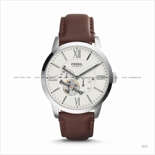 FOSSIL ME3064 Men's Townsman Automatic Leather Strap Brown