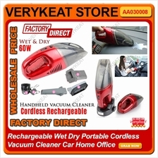 JK008B Rechargeable Wet Dry Cordless Vacuum Cleaner Car Home Office