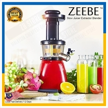 ZEEBE Slow Juicer Stainless Steel Fresh Juice Extractor Blender J3