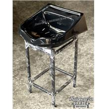 308 Fibre Basin for Hair Salon & Bridal Shop (Metal Stand)