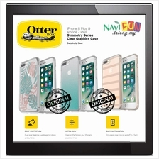 ★ OtterBox iPHONE 8 / 7 Plus SYMMETRY CLEAR GRAPHICS CASE
