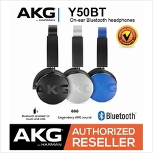 JBL AKG Y50BT On-Ear Bluetooth Wireless Legendary AKG Sound Headphones