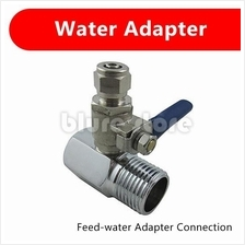 Ro Feed Water Adapter 1/2' Adaptor + 1/4' Brass Valve Water Filter