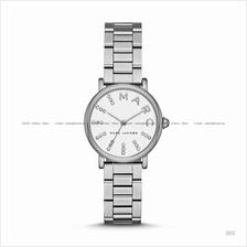 MARC BY MARC JACOBS MJ3568 Classic 3-hand Glitz SS Bracelet White