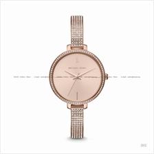 MICHAEL KORS MK3785 Jaryn Glitz Slim Bangle SS Bracelet Rose Gold