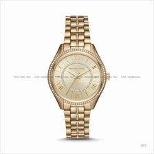 MICHAEL KORS MK3719 Lauryn 3-hand Glitz SS Bracelet Rose Gold