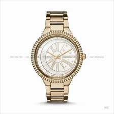 MICHAEL KORS MK6550 Taryn 3-hand Celestial Glitz SS Bracelet Gold