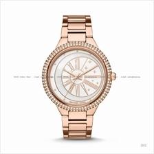 MICHAEL KORS MK6551 Taryn 3-hand Celestial Glitz SS Bracelet Rose Gold