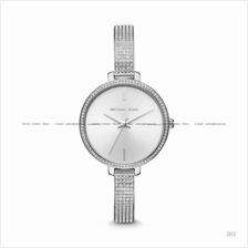 MICHAEL KORS MK3783 Jaryn Glitz Slim Bangle SS Bracelet Silver