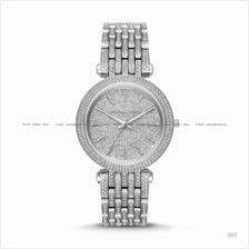 MICHAEL KORS MK3779 Darci 3-hand Glitz Dial SS Bracelet Silver