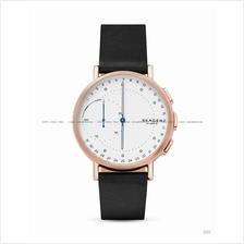 SKAGEN SKT1112 Signatur Connected Hybrid Smartwatch Leather Black