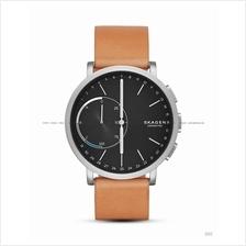 SKAGEN SKT1104 Hagen Connected Hybrid Smartwatch Leather Black Tan