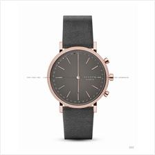 SKAGEN SKT1207 Hald Connected Hybrid Smartwatch Leather Strap Grey