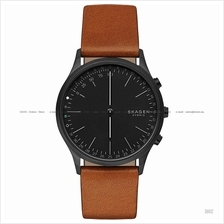 SKAGEN SKT1202 Jorn Connected Hybrid Smartwatch Leather Strap Brown