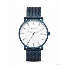 SKAGEN SKW6326 Men's Hagen Date Interchange Mesh SS Bracelet Blue