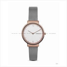 SKAGEN SKW2616 Women Ancher 2-hand Interchange Mesh Bracelet Two-tone
