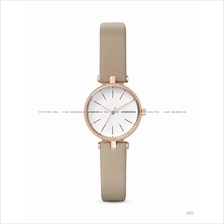 SKAGEN SKW2643 Women's Signatur 3-hand T-Bar Leather Strap Beige