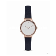SKAGEN SKW2608 Women's Ancher 2-hand Interchange Leather Dark Blue