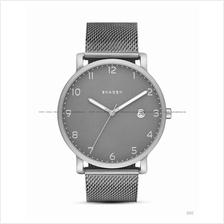 SKAGEN SKW6307 Men's Hagen Date Titanium Case Mesh SS Bracelet Grey