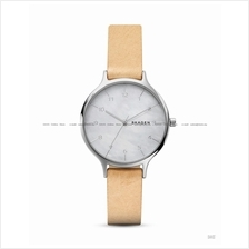 SKAGEN SKW2634 Women's Anita 3-hand Interchange Leather MOP Beige