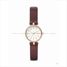 SKAGEN SKW2641 Women's Signatur 3-hand T-bar Leather Strap Maroon