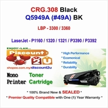 CANON CRG 308 LBP3300 LBP3360 Toner Compatible * NEW SEALED *