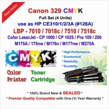 CANON CRG 329 LBP7010 LBP7018 Color Toner Compatible * NEW SEALED *