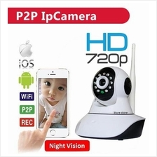 Wireless P2P IP CCTV Camera HD Night Micro SD Slot