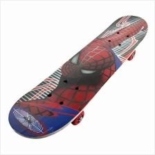 Wooden Spiderman Skateboard Mutlicolor - Educational Toys for Kids