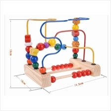 WOODEN BEADS, Beads Around, Educational Toys for Baby