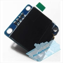 OLED display module I2C 128x64 blue pixels for Arduino & NodeMCU