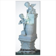 EXTRA LARGE EUROPEAN STYLE ANGEL WATER FOUNTAIN HOME GARDEN DECORATION