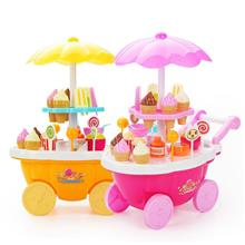 Candy Cart Ecotoy Sweety and Fun Trolly Pretend Toy Ice Cream Shop