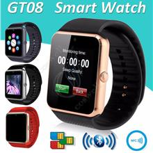 GT08 Sim Card Android Bluetooth Camera Smart Watch DZ09 U8