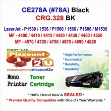 HP CE278A 78A P1560 M1536 CRG 328 Toner Compatible * NEW SEALED *