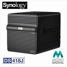 (OFFICIAL) Synology DS418j (DS-418J) NAS DiskStation 4-Bays