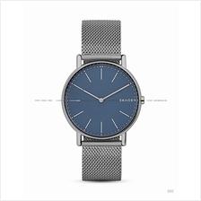 SKAGEN SKW6420 Men's Signatur Titanium Case Mesh SS Bracelet Blue