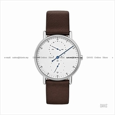 SKAGEN SKW6391 Men's Signatur 1-hand Interchange Leather Strap Brown