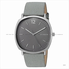 SKAGEN SKW6381 Men's Rungsted 3-hand Square Interchange Leather Grey