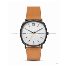 SKAGEN SKW6379 Men's Rungsted 3-hand Square Interchange Leather Tan