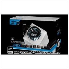 # DeepCool Captain 120 EX - White Edition AIO Watercooling # AM4 Ready