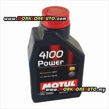 Motul 4100 Power 15W50 Semi Synthetic Engine Oil 1L