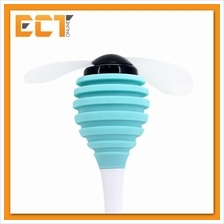Spore Portable USB Cool Fan Soft Leave for Power Bank, Laptop/PC (Blue)