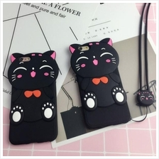 OPPO  F1S Neo 7 A33 A37 A57 Cartoon TPU Case with STRAP