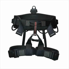Half Body Hiking Rock Climbing Harness Safety Waist Belt Support Strap