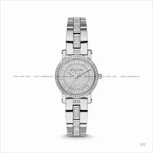 MICHAEL KORS MK3775 Petite Norie 3-hand Glitz SS Bracelet Silver