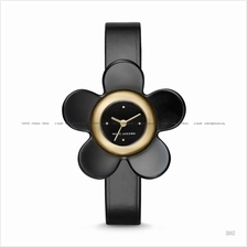 MARC BY MARC JACOBS MJ1593 Daisy 3-hand 3D Flower Leather Strap Black