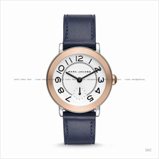 MARC BY MARC JACOBS MJ1602 Riley Small Second Leather Strap Navy