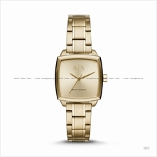 A X ARMANI EXCHANGE AX5452 Women's Nicolette Square SS Bracelet Gold