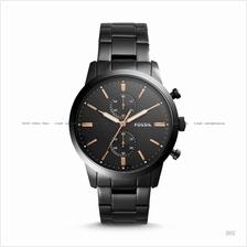 FOSSIL FS5379 Men's Townsman Chronograph SS Bracelet Black
